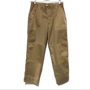 Gap High Rise Mohave Patch Utility Chinos 2